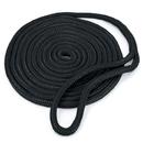 Brybelly 15' Double-Braided Nylon Dockline, Black