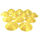Brybelly Set of 12, Two-Inch Tall Yellow Field Cones