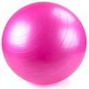 Brybelly 55cm Pink Exercise Ball with Foot Pump