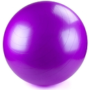 Brybelly 75cm Purple Exercise Ball with Foot Pump