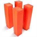 Brybelly Set of 4 Orange Anchorless Football Pylons