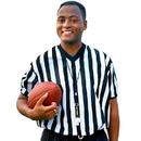 Brybelly Men's V-neck Referee Jersey, small