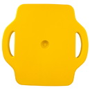 Brybelly 16in Gym Class Scooter Board w/Safety Handles - Yellow