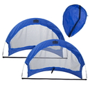 Brybelly Set of 2, 2.5' Pop Up Soccer Goals with 2 Carrying Bags