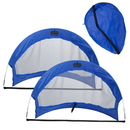 Brybelly Set of 2, 4' Pop Up Soccer Goals with 2 Carrying Bags