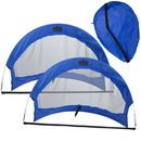 Brybelly Set of 2, 6' Pop Up Soccer Goals with 2 Carrying Bags