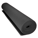 Brybelly 1/8-inch (3mm) Compact Yoga Mat with No-Slip Texture - Black