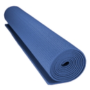 Brybelly 1/8-inch (3mm) Compact Yoga Mat with No-Slip Texture - Blue