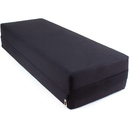 Brybelly Large 26-inch Black Yoga Bolster and Meditation Pillow