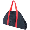 Brybelly Black Yoga Mat Cargo Carrier with Adjustable Straps