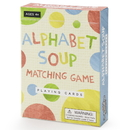 Brybelly Alphabet Soup Matching and Memory Card Game
