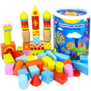 Brybelly 52-piece Daydream Castle Building Blocks