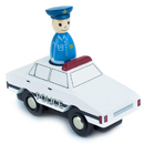 Brybelly Policeman Pete Squad Car with Removable Character