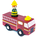 Brybelly Firefighter Faith Fire Truck with Removable Character