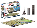 Brybelly 4D Paris Skyline Time Puzzle