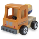 Brybelly Wooden Wheels Natural Beech Wood Cement Mixer