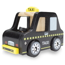 Brybelly Wooden Wheels Natural Beech Wood Taxi Cab