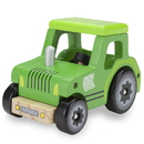 Brybelly Wooden Wheels Natural Beech Wood Tractor
