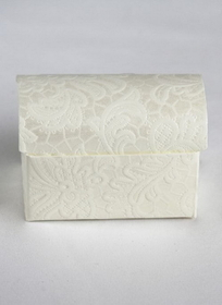 Treasure Chest Favor Box, Ivory
