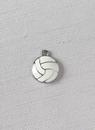 Ivy Lane Design White Volleyball Garter Charm