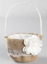 Ivy Lane Design Rustic Garden Flower Girl Basket