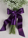 Ivy Lane Design Satin Bouquet Wrap with Tails