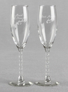 Ivy Lane Design Maid of Honor and Best Man Toasting Glass Set