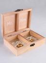 Ivy Lane Design Mr. and Mrs. Ring Bearer Box