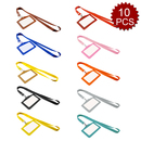 Officeship Set of 10 Colorful Faux Leather Business ID Badge Card Holder with Long Neck Strap Band Lanyard