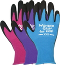 ATLAS Fit Wonder Grip Nicely Nimble Garden Gloves For Kids - Assorted - Extra Small