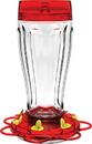 Classic Brands Big Gulp Glass Hummingbird Feeder - Red - 40 Ounce