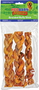Redbarn Naturals Braided Bully Sticks - 7 Inch/3 Pack