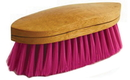 Desert Equestrian Legends Belmont Grooming Brush - Raspberry - 8.25 Inch