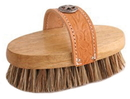 Desert Equestrian Legends Union Cowboy Heavy Grooming Brush - Tan - 7.5 Inch