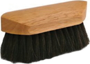 Desert Equestrian Legends Choctaw Pocket-Size Body Grooming Brush - Black - 6.375 Inch
