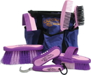 Desert Equestrian Equestria Sport Series Boxed Grooming Set - Purple - 8 Piece