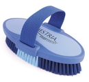 Desert Equestrian Equestria Sport Oval Body Brush - Blue - Large/7.5 Inch