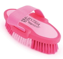 Desert Equestrian Equestria Sport Oval Body Brush - Pink - Small/6.75 Inch