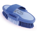 Desert Equestrian Equestria Sport Oval Body Brush - Blue - Small/6.75 Inch