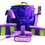 Desert Equestrian Luckystar Grooming Kit Purple / 9 Piece - 2306