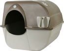 Omega Paw Self-Cleaning Litter Box - Brown/Taupe - Medium