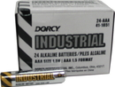 Dorcy Industrial Alkaline Batteries - Aaa/24 Pack