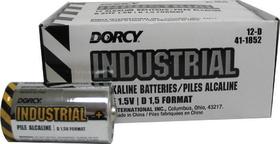 Dorcy Industrial Alkaline Batteries / D/12 Pack - 41-1852