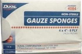Dukal Ns Gauze Sponge White / 4X4 Inch - 4122