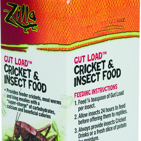 Zilla Gut Load Cricket & Insect Food / 4 Ounces - 100011598/Rp351
