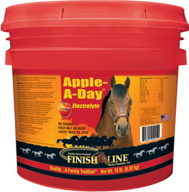 Finish Line Apple A Day Electrolyte Apple / 15 Pound - 2015