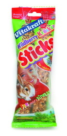 Vitakraft Pet Wildberry Stick For Rabbit Wild Berry - 25753