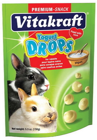 Vitakraft Pet Yogurt Drops For Rabbit Yogurt / 5 Ounce - 25444