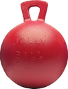 Horsemen S Pride Jolly Ball For Equine - Red - 10 Inch