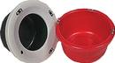 Horsemen S Pride Mini Slow Feeder Lip For Bucket - Red - 18 Quart